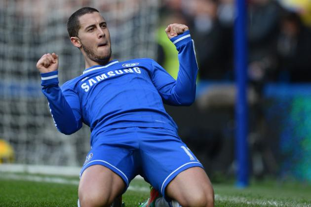 Chelsea Transfer News: Luis Filipe and Eden Hazard React to Latest Rumours