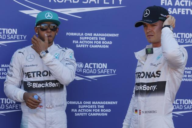 Analysing Evolution of Lewis Hamilton-Nico Rosberg Rivalry After Monaco GP
