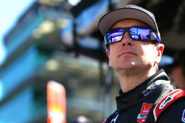 NASCAR's Kurt Busch Wins 2014 Indy 500 Rookie of the Year Award