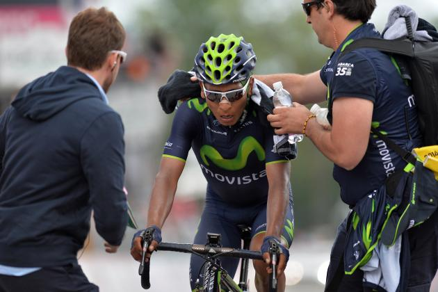Giro d'Italia 2014 Standings: Stage 16 Results, Leaderboard and Highlights