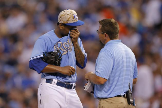 Kansas City Royals Share Continued Bad News for Pitching Staff