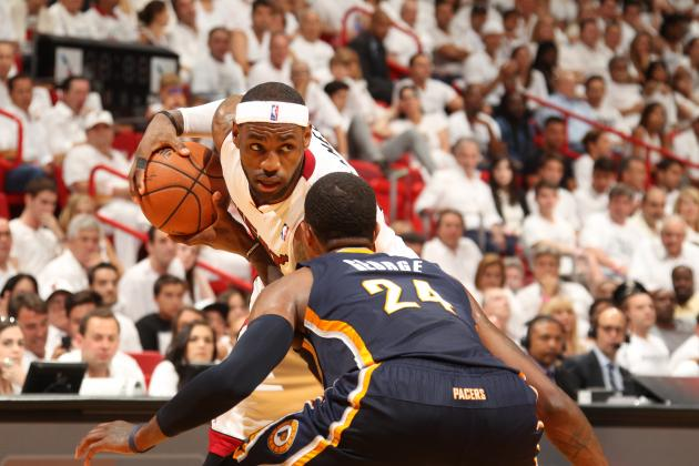 Miami Heat Showing Why They're in Completely Different Class Than Indiana Pacers