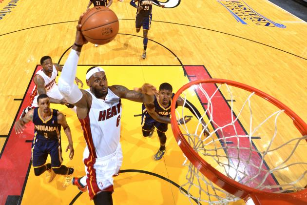 LeBron James Breaks Michael Jordan's Playoff Record for Most 25-5-5 Games