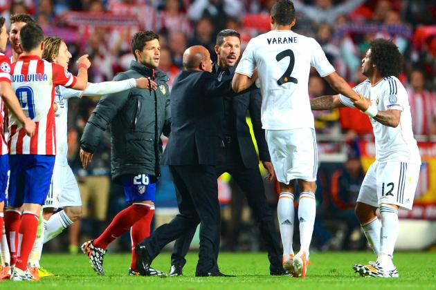 Xabi Alonso, Diego Simeone Charged After Champions League Final Incident