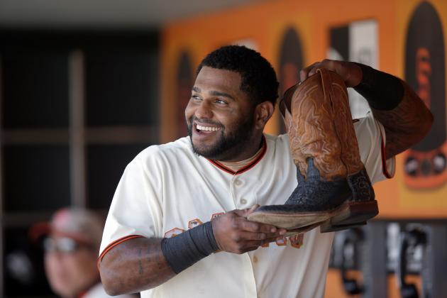 Pablo Sandoval Uses Cowboy Boots from Madison Bumgarner as Good Luck Charm