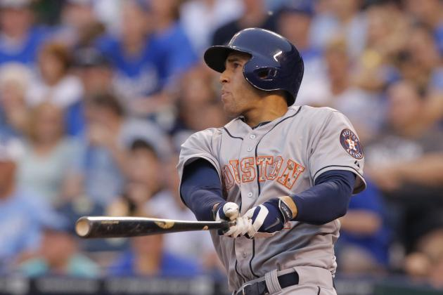 George Springer Becomes 1st Astros Rookie to Homer in 4 Straight Games