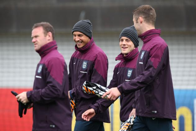 England World Cup 2014 Roster: Squad Info and Group-Stage Predictions