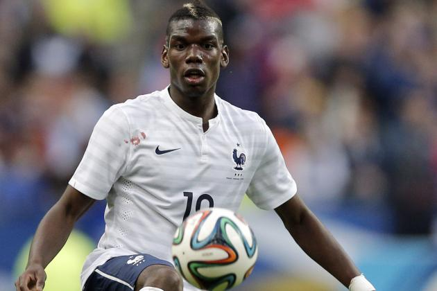 Paul Pogba Scores for France vs. Norway in World Cup Warm-Up Match