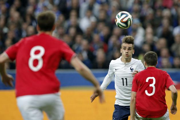 Antoine Griezmann Ready to Push Franck Ribery out of the France Line-Up