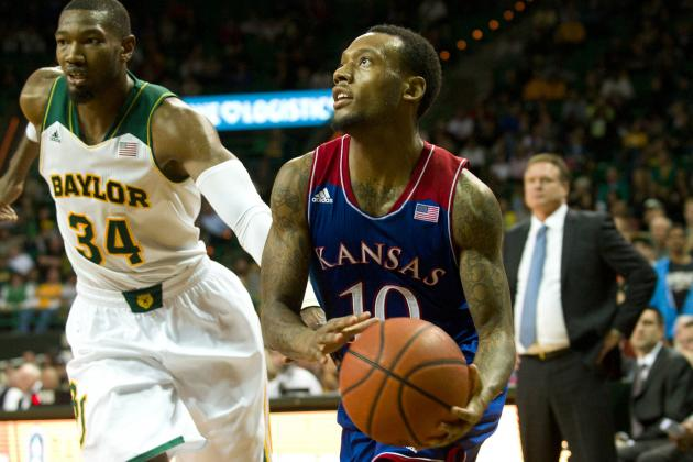 Providence, UMass Interested in Kansas Transfer Naadir Tharpe