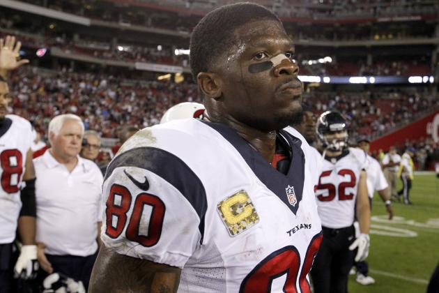 Andre Johnson Must Secure Trade to Contender If He Keeps Skipping Texans OTAs