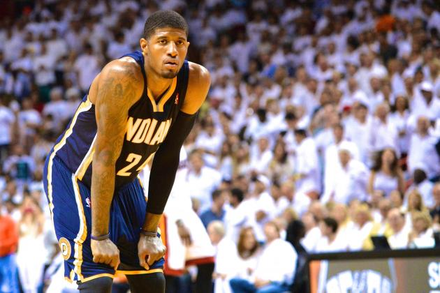 Paul George Fined $25,000 by NBA for Comments on Officiating After Game 4