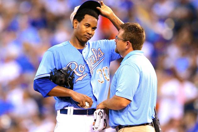 Yordano Ventura Latest Victim of Arm Injury, but Royals Rookie Escapes Worst