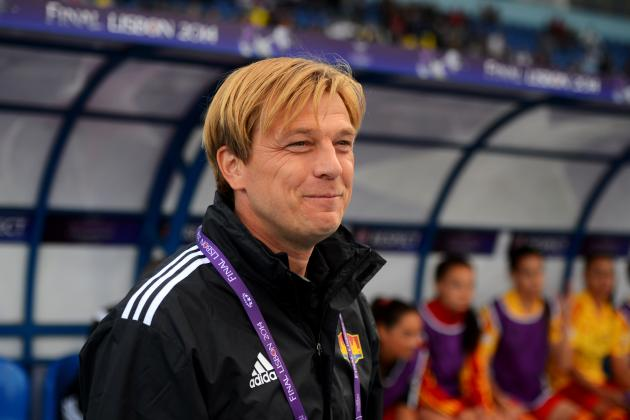 USWNT Manager Jill Ellis Hires Tony Gustavsson as Full-Time Assistant