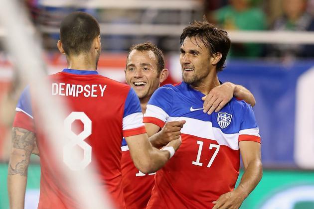 U.S. Announces Starting XI vs. Azerbaijan