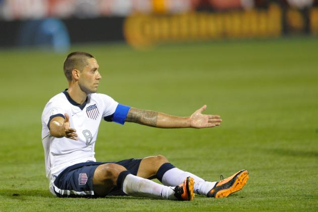 Dempsey (Groin) out vs. Azerbaijan; Wondolowski in
