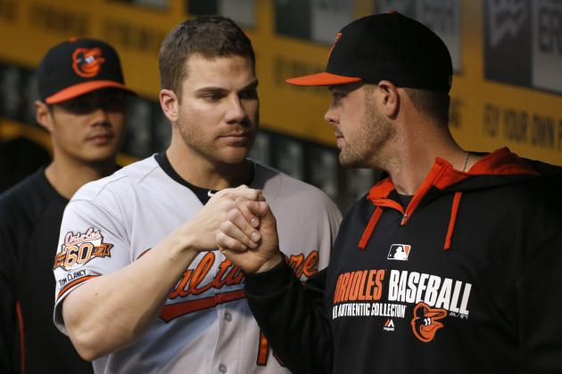 Matt Wieters' Elbow Making Progress, Helped by Controversial Injection