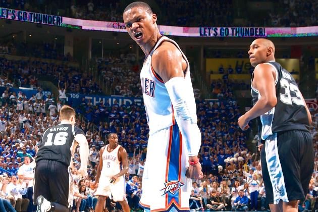 Thunder vs. Spurs Game 4: Live Score, Highlights and Reaction
