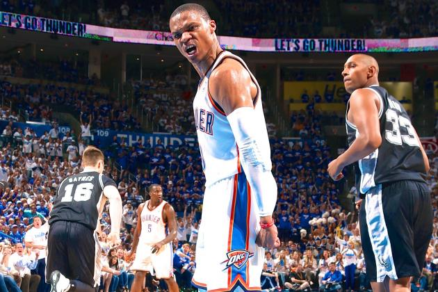 Spurs vs. Thunder: Game 4 Score and Twitter Reaction from 2014 NBA Playoffs