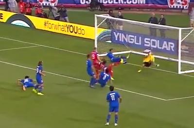 MNT vs. Azerbaijan: Mix Diskerud Goal - May 27, 2014