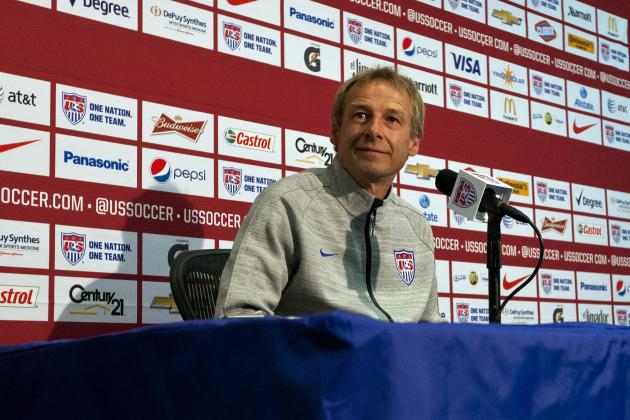 Klinsmann on US Attack: 'Have a Lot of Work Still'