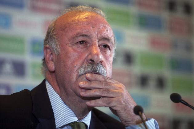 Vicente Del Bosque Reportedly Approached by Manchester Utd Before Louis Van Gaal