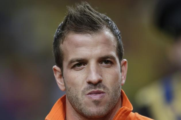 Injury Rules Rafael Van Der Vaart Out of FIFA World Cup