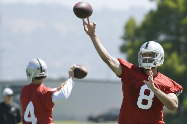 What Can the Raiders Do to Help Matt Schaub Rebound in 2014?