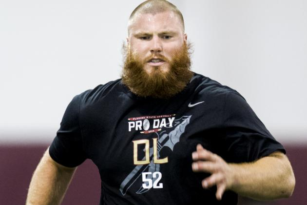 Bryan Stork in Line with Patriots