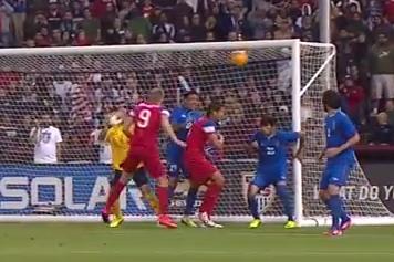 MNT vs. Azerbaijan: Aron Johannsson Goal - May 27, 2014