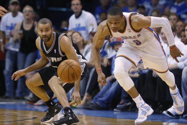 NBA Playoff Schedule 2014: Updated TV Info and Outlook for Spurs and Thunder