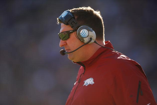 Bret Bielema Wants 'Respected' Voice and SEC Title -- Will Two Intersect?