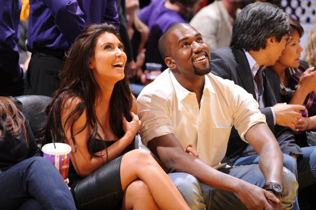 Honeymooners Kim Kardashian and Kanye West Reserved Seats at Cork City