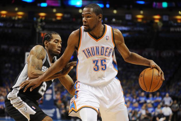 NBA Playoffs 2014: Latest Odds and Predictions for Thunder vs. Spurs Game 5