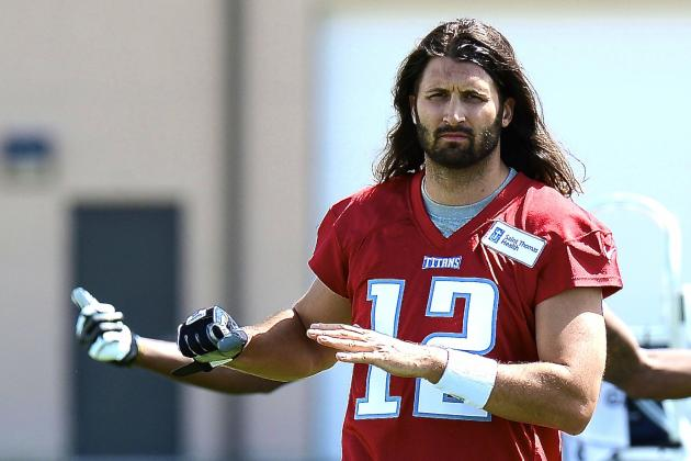 Charlie Whitehurst Loses Arm-Wrestling Competition to Punter