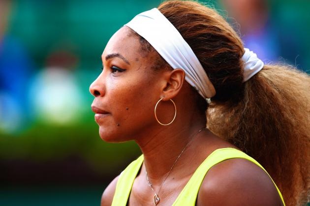 Serena Williams' Future Suddenly in Question After Muguruza Upset at French Open