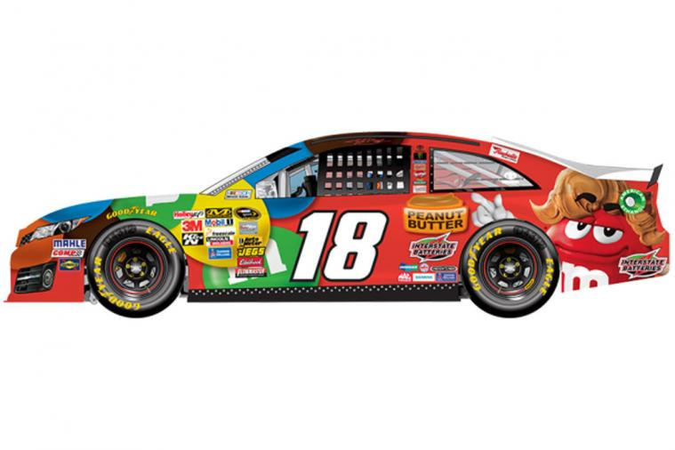NASCAR Shows off 6 New Paint Schemes for Dover 2014