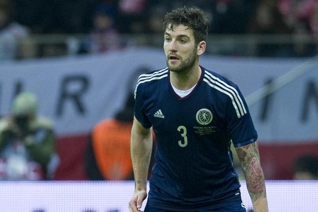 Charlie Mulgrew Scores Backheel Golazo for Scotland vs. Nigeria