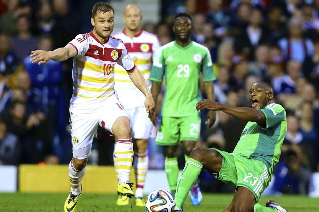 Nigeria vs. Scotland: International Friendly Live Score, Highlights, Report