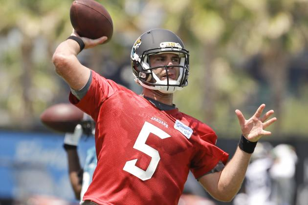 Jaguars Coaches Praise Bortles' Work Ethic After First Practice with Veterans