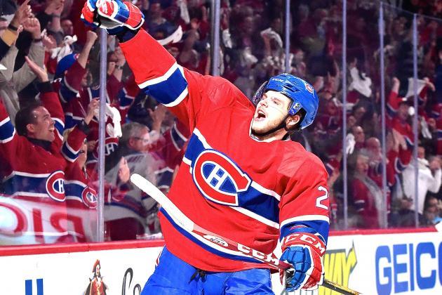 Alex Galchenyuk's Resurgence Giving Canadiens Hope vs. Rangers