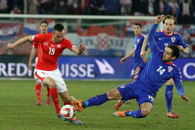 Switzerland vs. Jamaica: Time for Josip Drmic to Seize His World Cup Chance