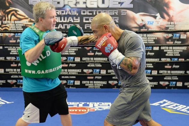 Roach: Miguel Cotto Will End Martinez in Four Rounds