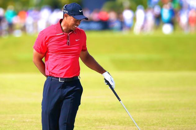 Tiger Woods Will Miss US Open with Back Injury