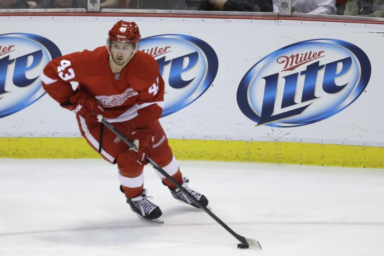 Should Detroit Red Wings Use Darren Helm as Trade Bait?