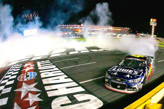Why Sprint Cup Drivers Should Be Scared Now That Jimmie Johnson Has a Win