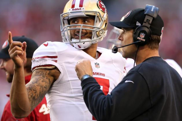 Jim Harbaugh Predicts Big Year for Colin Kaepernick