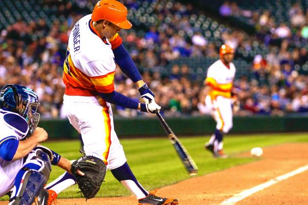 George Springer Forcing His Way into Hotly Contested A.L. ROY Race