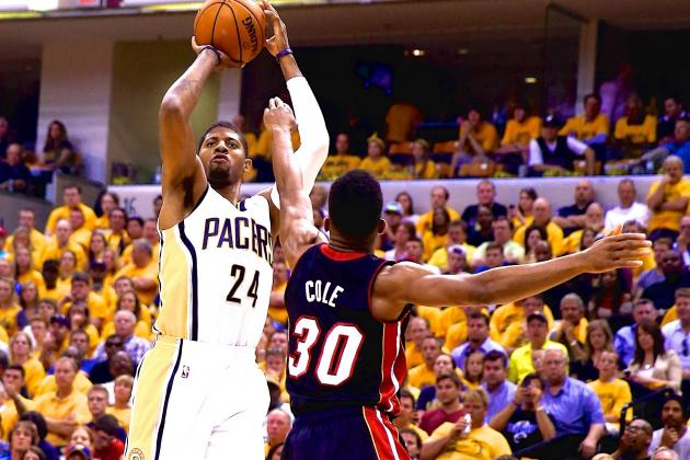 Heat vs. Pacers: Game 5 Score and Twitter Reaction from 2014 NBA Playoffs