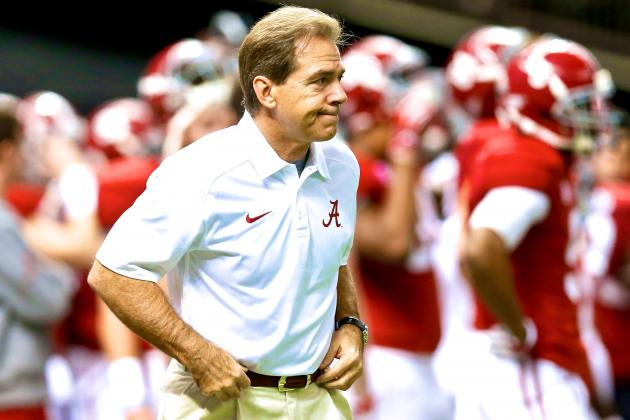Alabama Football: Scheduling Becoming More of an Issue for Tide, Nick Saban